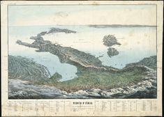 Una cartina dell'Italia del 1853 http://www.lavocedinewyork.com/C-era-una-volta-l-Italia-ora-e-tornata-l-espressione-geografica/d/14208/