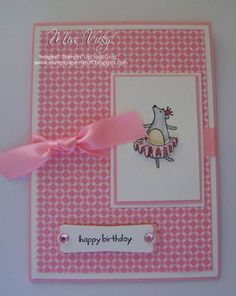 Under the Big Top, Bear, LNS 159... by Miss Vicky - Cards and Paper Crafts at Splitcoaststampers