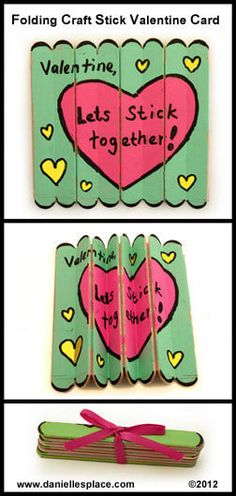 Students could make their own heart puzzles during class, or create these Popsicle stick puzzles for your class during an evening of Netflix binge watching.