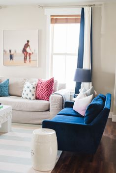 Krason Home Tour – Shop House of Jade //blue and pink