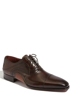 Magnanni 'Xavier' Cap Toe Oxford available at #Nordstrom .  I love the construction of the sole.