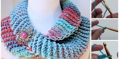 crochetdueling colors cowl there is many beautiful clothing and accessories which ones you will love, but life is too short to crochet all of them. We are trying to search for you cl Tunisian Crochet, Free Crochet, Crochet Hooded Scarf, Knitting Patterns, Crochet Patterns, Fillet Crochet, Neck Warmer, Crochet Clothes, Beautiful Outfits