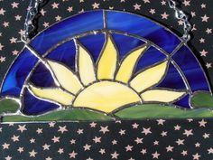Rising Sun by vistaglassonline on Etsy, $36.00
