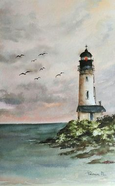 35 Easy Watercolor Landscape Painting Ideas To Try - Cartoon District