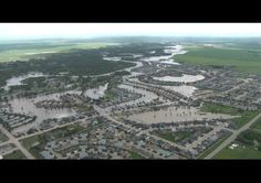 RCMP released these aerial images of the town of High River, taken on June Mounties continue going door-to-door in the area to check on residents. Photograph by: Supplied, RCMP Aerial Images, Great Paintings, Alberta Canada, Calgary, City Photo, River, Amazing, True North, June 22