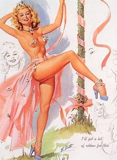 History of Art: Pin-up Art - Freeman Elliot