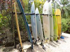 Surfboards in Nosara Costa Rica