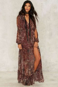 The Jetset Diaries Labyrinth Maxi Dress   Shop Clothes at Nasty Gal!