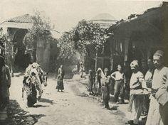 Armenian Life in Turkey National Geographic October 1915. Marash street scene