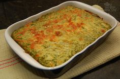 Budín de verduras y ricotta Cooking Recipes, Healthy Recipes, Bude, Guacamole, Macaroni And Cheese, Food And Drink, Gluten Free, Favorite Recipes, Breakfast