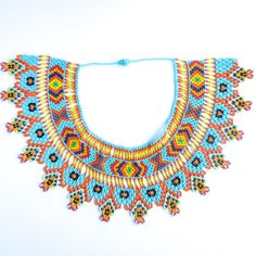 Collier Embera turquoise  