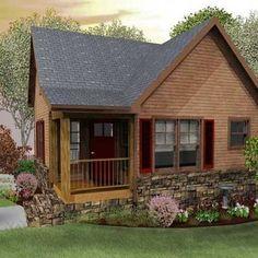 tiny homes appalachia | Black Mountain Cottage