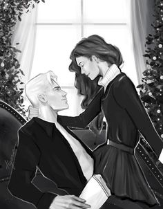 Draco And Hermione, Draco Harry Potter, Harry Potter Ships, Harry Potter Characters, Hermione Granger, Harry Potter Artwork, Harry Potter Images, Lorde, Salem Tv Show
