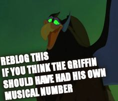 Griffin from Quest for Camelot <3