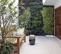 Conta aí: Jardim vertical