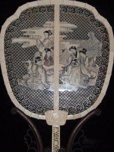 Carved Ivory fan