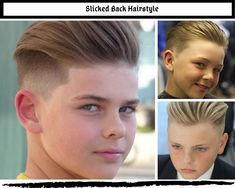 Best Boys Hairstyles - Do you want to give your boy a new look for the year Whether it be a subtle change or a total new look. Little Boy Hairstyles, Old Hairstyles, Girl Haircuts, Sleek Back Hair, Military Cut, Comb Over Fade, Growing Out Hair, Long Hair On Top, Boy Cuts