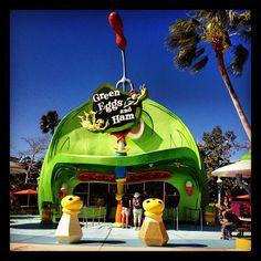 Green Eggs and Ham at Seuss Landing at Universal Orlando