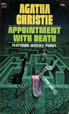 Appointment with Death - Dell - 1971. Cover art by William Teason. Agatha Christie