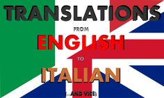 translate Your documents from english to Italian and vice by gecom22