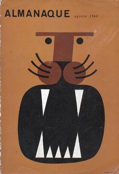 Almanaque cover by Sebastião Rodrigues