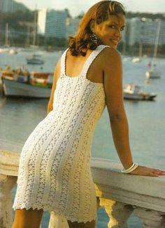 sukienka na szydełku.crochet dress