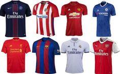Top 20 - Ranking de los equipos de fútbol que más camisetas venden