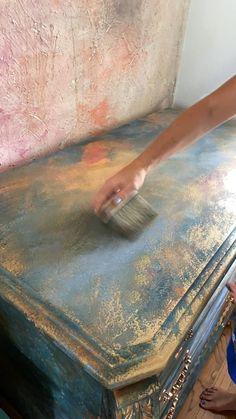 Diy Furniture Fix, Diy Furniture Renovation, Chalk Paint Furniture, Refurbished Furniture, Furniture Projects, Furniture Makeover, Furniture Decor, Chalk Paint Projects, Furniture Painting Techniques