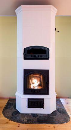 Moodulahi Elisabeth L - soojust salvestav leivaahi nüüd hinnaga al. Fireplace Design, Cabana, Home Organization, Building A House, Backyard, Home Decor, Stoves, Fireplaces, Wood Stoves