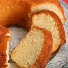 Egg White Cake - a richer cousin of the Angel's Cake