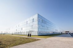 Completed in 2012 in Jossigny, France. Images by 11h45. The Marne-la-Vallée hospItal is metIculous and clever, established In the middle of huge flat fields. It's a small town, a complete organization, the...