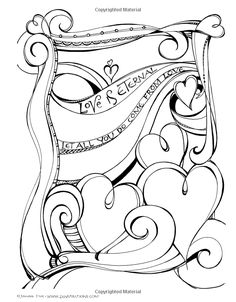 Zenspirations(R) Coloring Book Inspirations: Designs to Feed Your Spirit: Create, Color, Pattern, Play! (Design Originals) 30 Uplifting & Encouraging Designs with Positive Messages & Playful Patterns Tangle Doodle, Doodles Zentangles, Zentangle Patterns, Colouring Pages, Adult Coloring Pages, Coloring Books, Scripture Art, Bible Art, Doodle Drawings