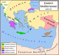 1453. Fall of Constantinople (Wikipedia article). Ottoman Empire puts a final end to the Byzantine Empire. Intellectuals fleeing Constantinople migrate to Italy, helping to fuel the Renaissance. The Ottoman Emire was a Sunni Islamic state founded by Oghuz Turks in 1299 and lasted until the aftermath of WWI.