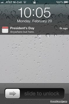 Day off for President's Day