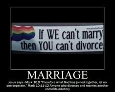 """Just because there are Christians who commit adultery, doesn't change that homosexuality is sin. And there isn't """"Adultery Pride"""" month. Think about it. Thats The Way, That Way, Jesus Quotes, Me Quotes, Sweet Quotes, Demotivational Posters, All Family, Statements, Gay Couple"""