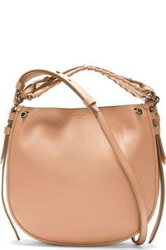 Givenchy Pink studded Obsedia Hobo bag.