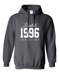 1996 Limited Edition B-day Hoodie 20th Birthday Gift Cool swag mens womens ladies hoodie hooded sweatshirt sweater Unisex TH-113
