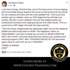 So grateful. Home Staging, Fisher, Grateful, Student