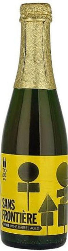 To Øl Sans Frontière (Aged in White Wine Barrels)
