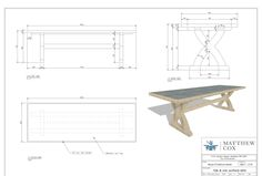 Draft furniture, woodworking, joinery cad shop drawing by Sayed_handol Unique Wood Furniture, Folding Furniture, Furniture Logo, Furniture Removal, Cheap Furniture, Discount Furniture, Table Furniture, Furniture Design, Top Furniture Stores