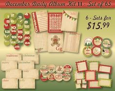 More december daily ideas
