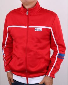 Sergio Tacchini | 80s Casual Classics Grandad Collar Shirt, Polo Shirt, T Shirt, Motorcycle Jacket, Shorts, Classic, Casual, Jackets, Tops