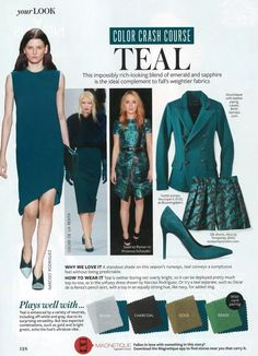 Color Crash Course: Teal