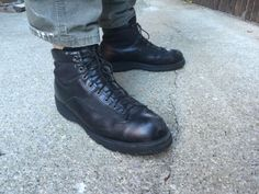Danner-Boots-13-EE-Mens-Leather-Work-Hunting-Patrol-Goretex-Rockport-WIDE-Shoes