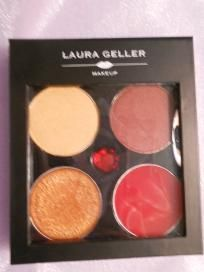 LAURA GELLER BEJEWELED COLLECTION LIP & EYE (THE RUBIES) FREE SHIPPING! $20.00