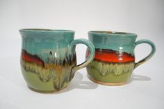 Pottery Cup Coffee Cup Tea Mug Handmade Ceramics in by ClayismyArt