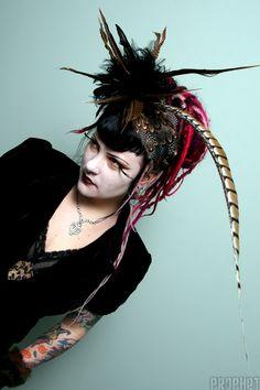 Amazing hair and headdress!