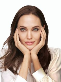 Angelina Jolie:  GORGEOUS!!!!  My God look at that face.