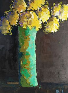 Green Vase - ©Gary Bodner www.garybodner.net/paintings.html