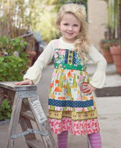 Matilda Jane Clothing PERRY INN KNOT DRESS #matildajaneclothing #MJCdreamcloset